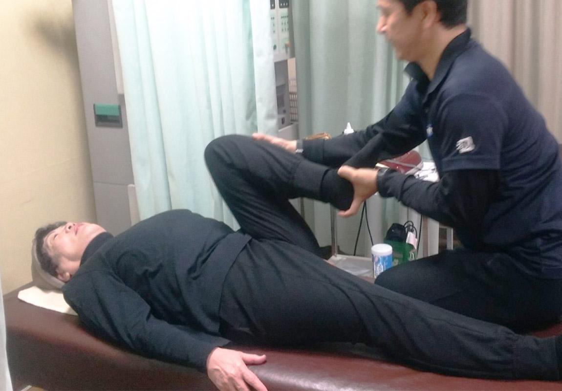 膝の治療について