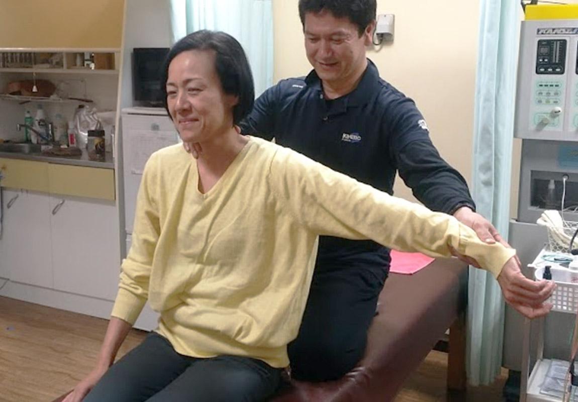 肩・首の治療について
